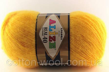 Alize Angora Real 40 (Ализе Ангора реал 40)  216 желтый