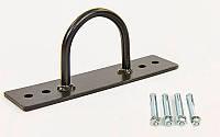 Крепление настенное для каната Battle Rope (1шт) FI-6988 (металл, р-р 20х8x5см, труба d-10мм, цена за 1шт)