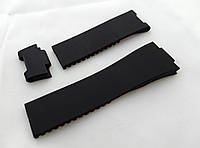 Ремешок женский Ulysse Nardin черный, 3 части, универсальный комплект, фото 1