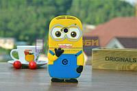 Чехол-бампер силиконовый HTC One M7 801e 802w Миньон