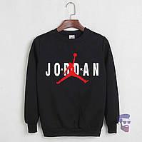 Свитшот Jordan черный (Реплика)