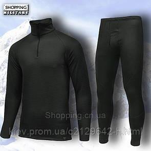 Термобелье мужское черное Polartec Power Stretch Black