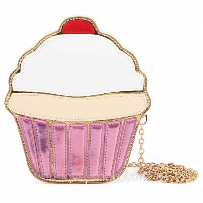 Сумка пирожное, сумка пироженко, модная сумка, фото 1