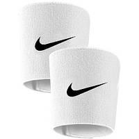 Держатели щитков, тейпы футбольные Nike, Найк, белые , фото 1