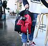 Крутой тканевый рюкзак для школы с пеналом, фото 4