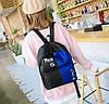 Крутой тканевый рюкзак для школы с пеналом, фото 5