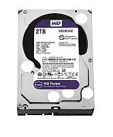 HDD SATA 2.0TB WD Purple 5400rpm 64MB (WD20PURZ)