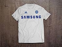 Клубная футболка Челси, Chelsea, белая, ф3591
