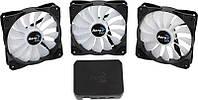 Вентилятор Aerocool P7-F12 Pro RGB Black 3х120мм + P7-H1
