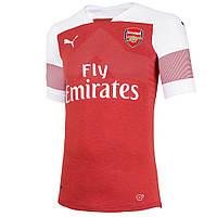 Футбольная форма 2018-2019 Арсенал (Arsenal), домашняя, красная,0238