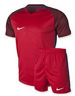 Футбольная форма Nike красная , фото 1