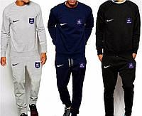 Футбольный костюм, тренировочный костюм Сборной Франции, France, Nike, Найк, серый, синий, черный, ф4925