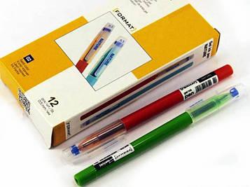 Ручка гелевая F17135-02 синяя 12шт Format