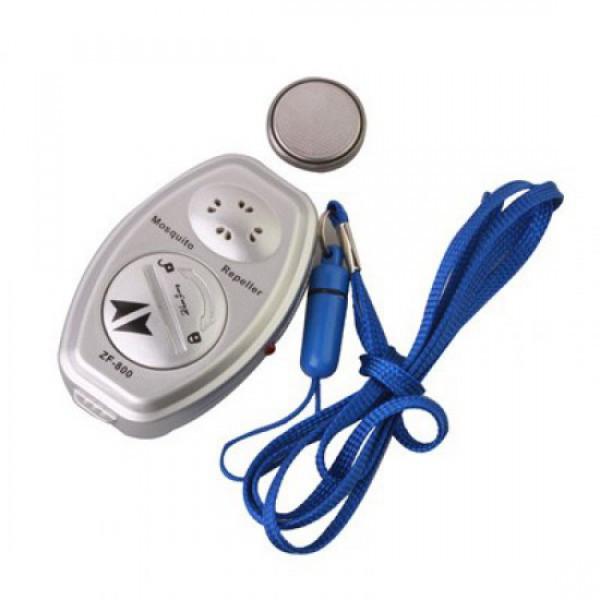 Ультразвуковой отпугиватель комаров ZF-800E, средство от комаров