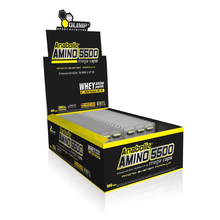 Аминокислоты Anabolic Amino 5500 (30 caps) OLIMP