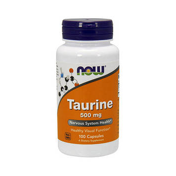 Taurine 1000 mg Double Strenth (100 veg caps) NOW