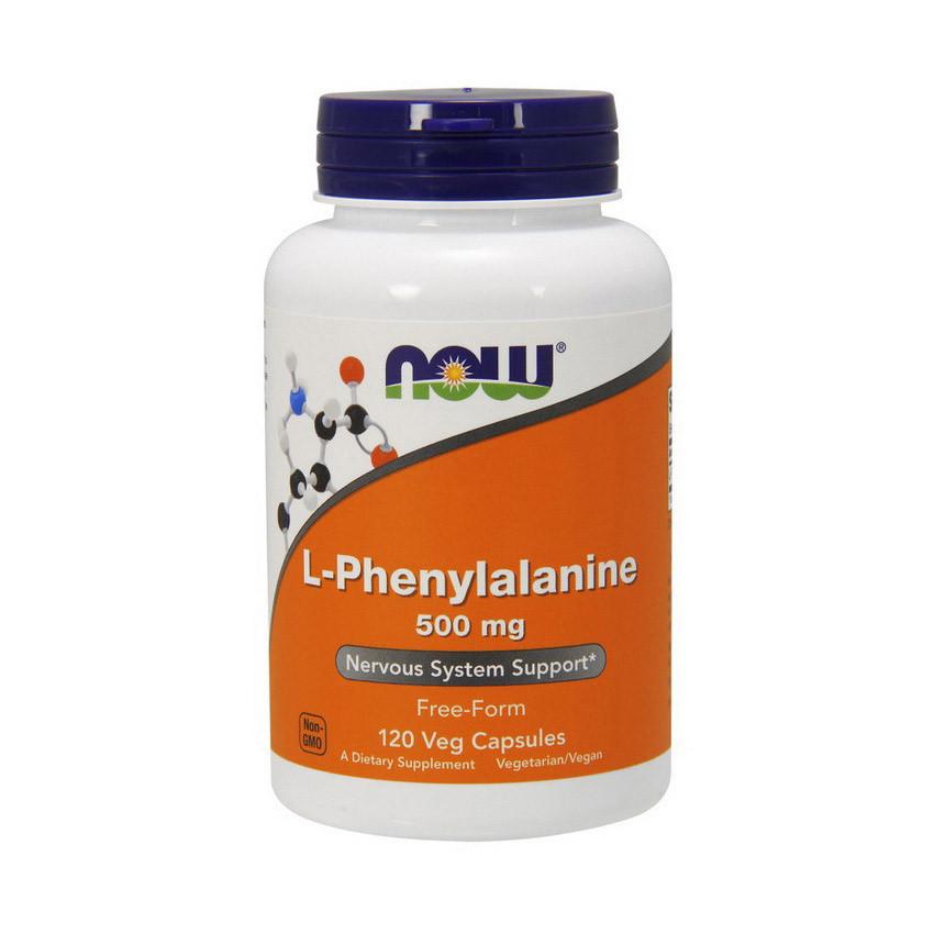 Аминокислоты L-Phenylalanine (120 caps) NOW