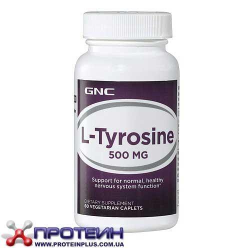 L-Tyrosine 500 mg (60 veg caps) GNC