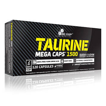 Taurine (120 caps) OLIMP