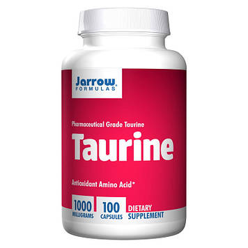 Taurine 1,000 mg (100 caps) Jarrow Formulas