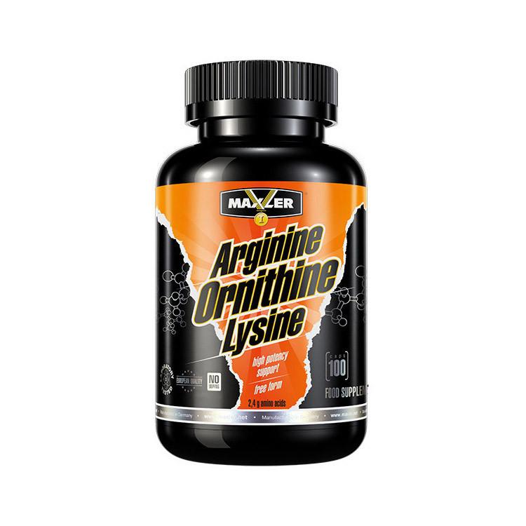 Arginine Ornithine Lysine (100 caps) Maxler