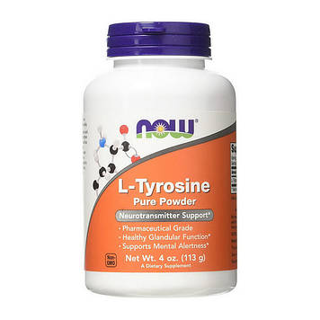 Аминокислоты L-Tyrosine 500 mg (113 g) NOW