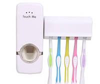 Дозатор зубной пасты+держатель зубных щеток