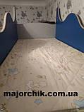 Кровать машина чердак машинка Ауди со столом, комодом и шкафом, фото 9