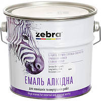 Эмаль Зебра Акварель ПФ-116 818 темно-серая 0.9 кг