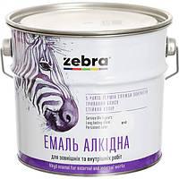 Эмаль Зебра Акварель ПФ-116 887 красно-коричневая 0.9 кг