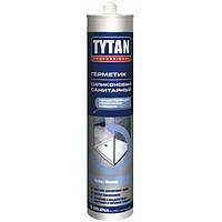 Герметик Tytan силиконовый санитарный белый 280 мл