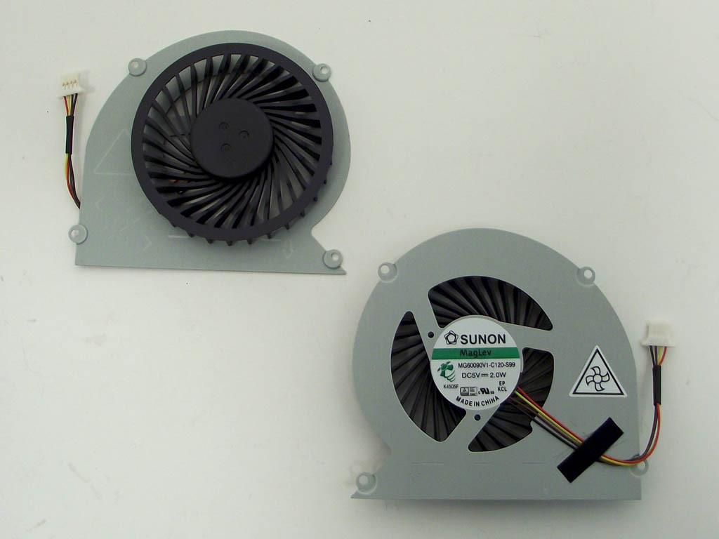 Вентилятор (кулер) для Acer Aspire 4830, 4830G, 4830T, 4830TG (MG60090V1-C120-S99). 4Pin