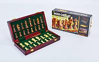 Шахматы настольная игра деревянные ZOOCEN X3008 (р-р доски 30см x 30см)