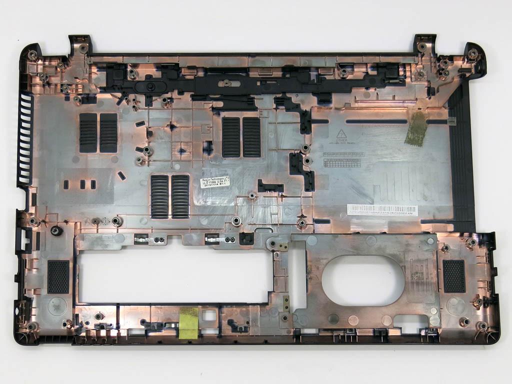 Корпус для ноутбука Acer Aspire E1-510, E1-530, E1-532, E1-552, E1-570, E1-572 (Нижняя крышка (корыто)).