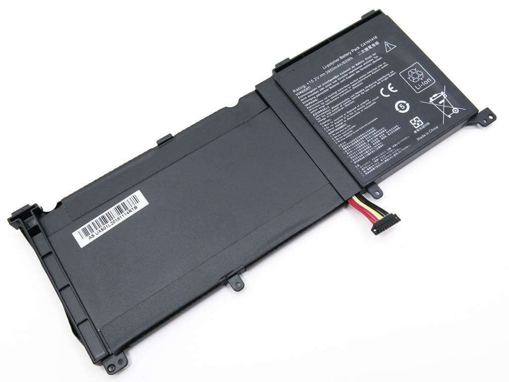 Батарея для ноутбука Asus Zenbook Pro UX501JW, G501VW, G501JW, UX501VW-DS71T, UX501L (C41N1416) (15.2V 3800mAh