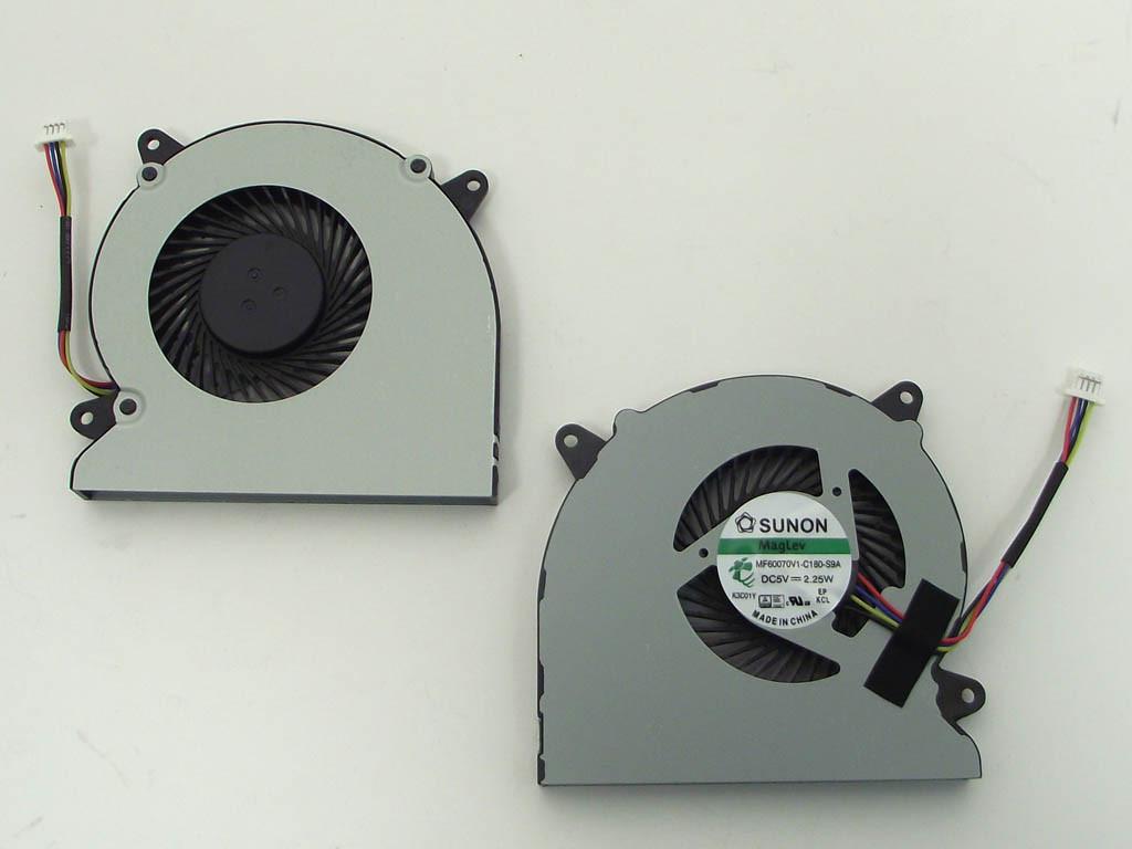 Вентилятор (кулер) для Asus N550, N550JA, N550JV, N550LF, N750JV, N550JK, N750JK, Q550LF, N550L, G550