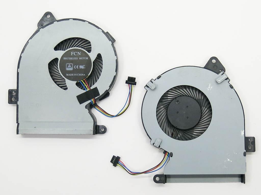 Вентилятор (кулер) для Asus X541, X541UA, R541UA, R541UA-RB51 (13NB0CG0T01011)