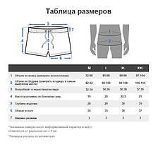 Мужские Короткие шорты пляжные, для купания Seobean (карман, сетка) СИНИЕ \ чоловічі шорти пляжні сині, фото 3