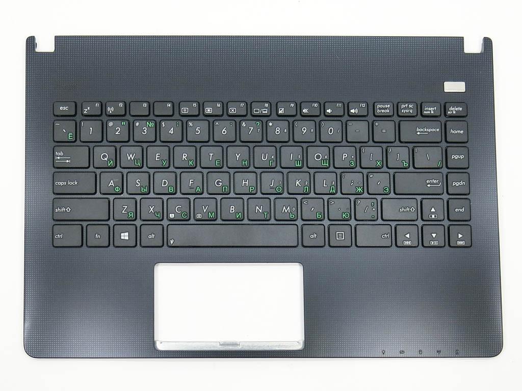 Клавіатура для ноутбука Asus X401, X401A ( RU Black з кришкою Графіт) Російська