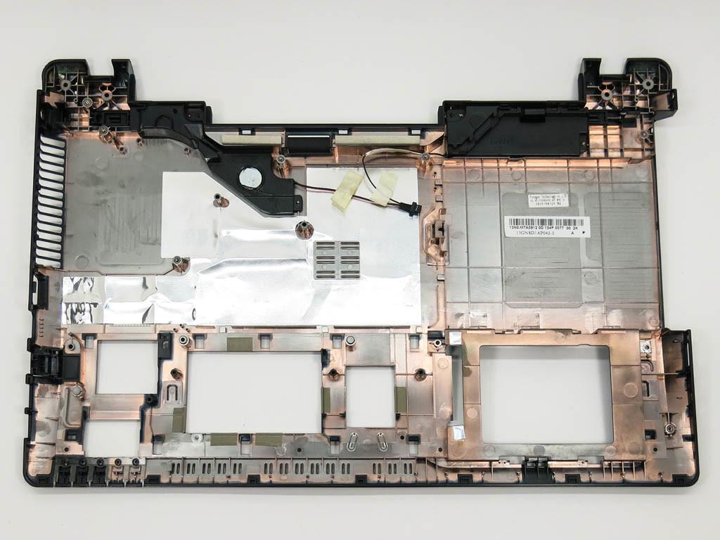 Корпус для ноутбука Asus K55V, K55VD, A55V, A55VD, X55 (Нижняя крышка (корыто)). (13GN8D1AP042-1)