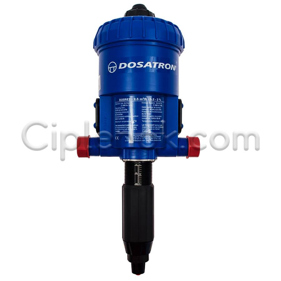 Дозатор Dosatron D25RE2VF (0,2-2%; 0,3-6 бар; 2500 л/ч)