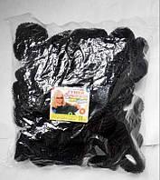 Чёрные резинки для волос .50 штук.большие