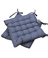 Подушка на стул MODENA серая, 40*40 см