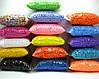 Пенопластовые шарики для слаймов и декора.  2-4 мм,1000 мл, Микс (разные цвета)., фото 2