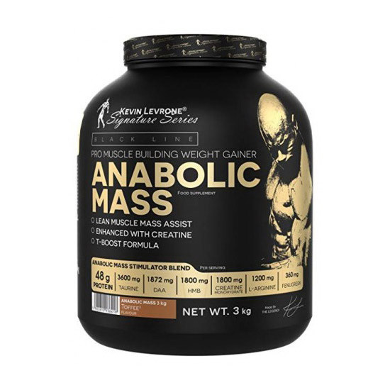 Гейнер Anabolic MASS 40% protein (3 kg) Kevin Levrone