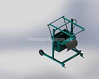 Вибростанок для производства шлакоблоков MS-1 (универсал) без формы.