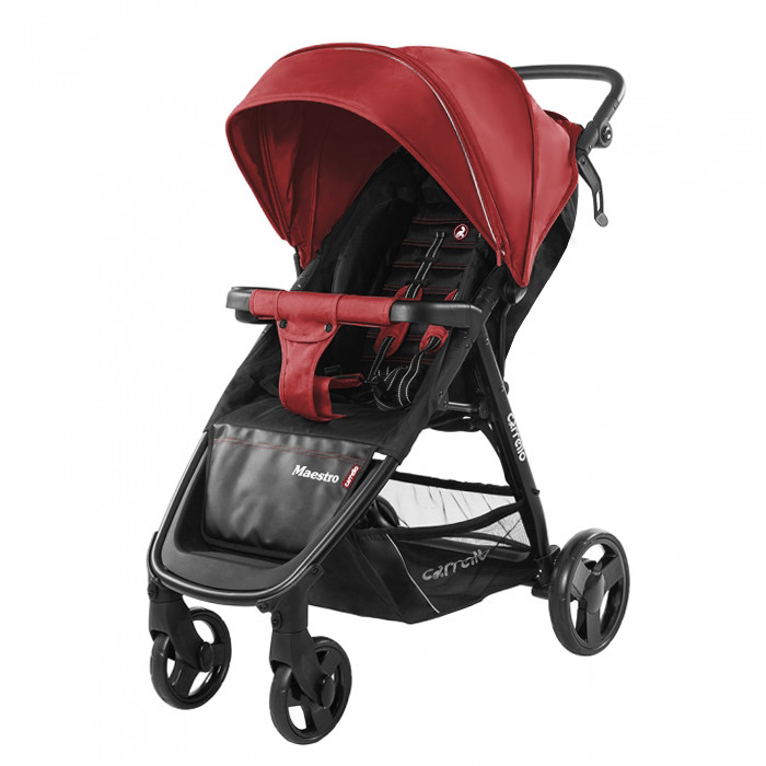 Коляска прогулочная CARRELLO Maestro CRL-1414 Tango Red +дождевик вес 9кг
