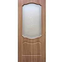 Дверь межкомнатная ОМиС Прима 70 см дуб золотой со стеклом