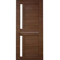 Дверь межкомнатная ОМиС Cortex Deco 01 60 см дуб amber line со стеклом