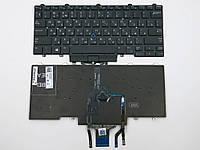 Клавиатура для ноутбука Dell Latitude E5450, E7450, E5470, E7470 ( RU Black c подсветкой). Оригинальная